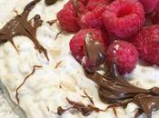 Porridge Proteico Lamponi Crema Nocciole