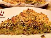 Sbriciolata salata stracchino zucchine mortadella