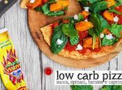 Pizza lowcarb semplice veloce sana Simple, fast healthy pizza