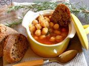 Ciciri ovvero minestra ceci alla siciliana