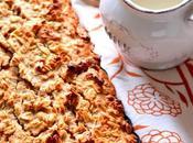Torta d'avena vegan gluten free