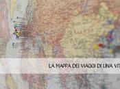 Un'idea tenere traccia propri viaggi