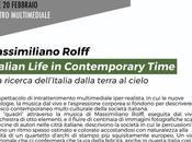 ITALIAN LIFE CONTEMPORARY TIME Massimiliano Rolff
