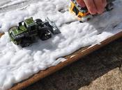 Come fare neve finta gioco sensoriale