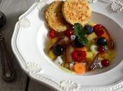 Zuppa dolce frutta verdura) all'acqua pomodoro roccia nocciola vaniglia l'Mtc #53. Perché niente come appare.
