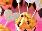 Muffin vegan pere cioccolato