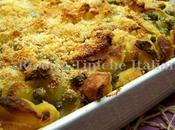 Pasta Gratinata Ricotta Piselli Pancetta