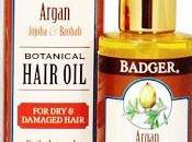 Badger Balm Argan Hair Oil, Olio capelli Recensione INCI