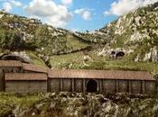 ricostruzione virtuale Santuario della Grotta Michele (Monte Sant'Angelo) tempo longobardi