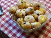Frittelle veneziane ripiene alla crema