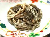 Linguine trafilate funghi porcini panna tartufo nero Oggi cucina...Emanuele