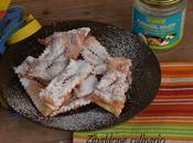 Crostoli senza uova fritti olio cocco