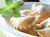Ravioli dolci romagnoli castagne, cioccolato mandorle.