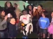 Maradona famiglia Reina tifanoNapoli Dubai. Guarda Video