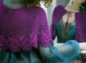 Mantellina crochet schema piccolo aiuto leggerlo...