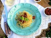 """Linguine Pomodori Secchi Tarallo """"Nzogna Pepe"""