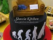 Bing Bang Theory Cake