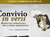 """L'antologia poesia marchigiana """"Convivio versi"""" Sassoferrato 22-02-2016"""