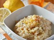 Risotto mazzancolle limone erba cipollina King prawns risotto with lemon chive