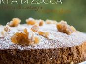 Torte zucca farina castagne marron glacé senza glutine