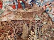 """PAVIA. Musei Civici, flora spontanea pavese come appare negli arazzi della Battaglia Pavia""""."""