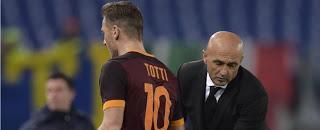 """Spalletti: """"Totti? Dovevo mettere ordine. Decida cosa vuole fare"""""""