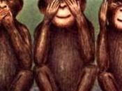 """significato occulto delle """"Tre scimmie sagge"""" nascosto dall'elite"""