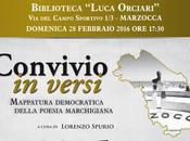 """febbraio l'antologia della poesia marchigiana """"Convivio versi"""" Spurio Marzocca (AN)"""