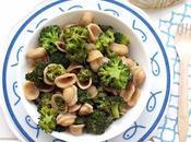 Orecchiette broccoli, acciughe olive taggiasche