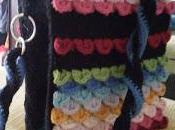 Borsa arcobaleno lana....rigida