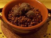 novità antica Roveja umido polpettine (cotte forno)