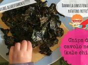 Chips cavolo nero forno (kale chips)