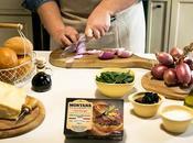Hamburger Gourmet Montana cipolle caramellate, parmigiano balsamico stravecchio