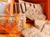 Crackers segale lievito madre