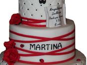Torta laurea Martina confettata