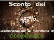vostro matrimonio ecologico diventa anche economico grazie ecoplanner
