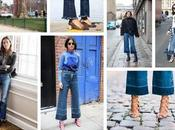 Trend alert: cropped flare jeans