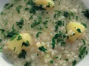 Minestra riso, patate prezzemolo