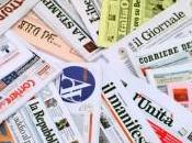 Giornali: picco Fatto Quotidiano Tempo, vola Corriere della Sera