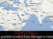 Sapevate Portogallo parte viaggio lungo mondo treno?