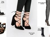 Shopping tips: Lace-up sandals caged heels