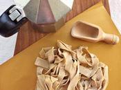 Pasta fresca fatta casa: pappardelle caffè