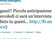 Anna Tatangelo Laura Pausini arriva Iene
