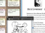 """Arriva Store l'applicazione """"Scrivener"""" appl. dedicata scrittori, studenti blogger ecc.."""