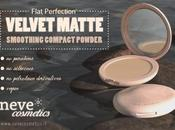 [Preview] Velvet Matte, smoothing compact powder Neve Cosmetics