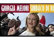 Giorgia Meloni candida Sindaco Roma.
