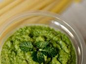 #KIDS-FRIENDLY Pesto piselli menta