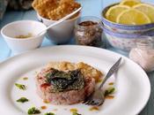 Tartare Palamita all'Orientale Salsa Teriyaki, Alga Nori Fritta Crackers allo Shichimi Togarashi