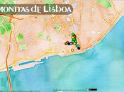 Montras Lisboa Nicola Innocentis, mappa insolita della città
