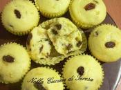 Muffin mirtilli uvetta
